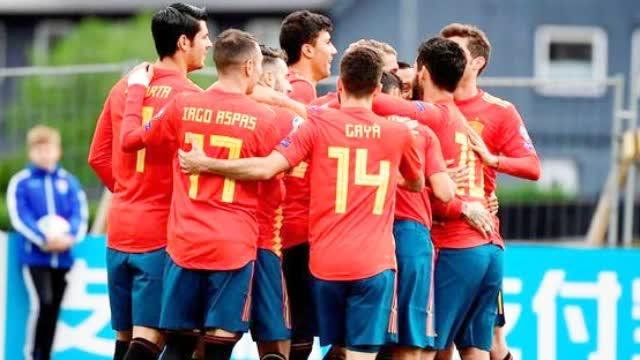 视频-拉莫斯回归进球 欧预赛西班牙4-1夺3连胜领跑