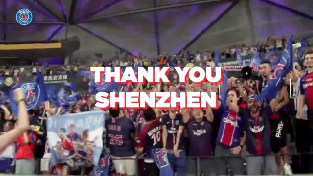 视频-中国行圆满结束 大巴黎制作视频感谢球迷