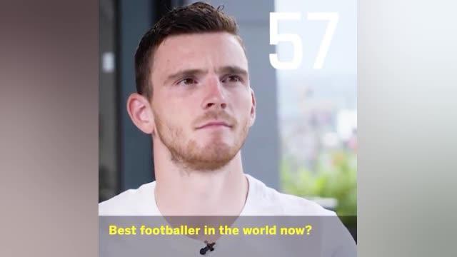 视频-谁是足坛史上最佳? 利物浦飞翼罗伯逊:梅西