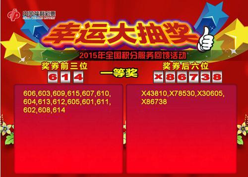 彩民也可拨打中国福利彩票服务热线95189518查询中奖结 果.