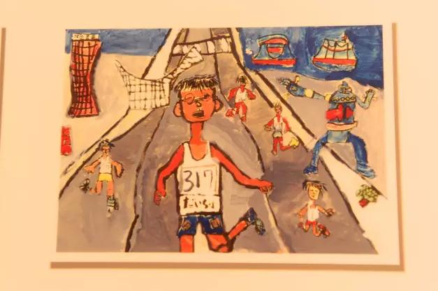 """带你逛""""神马""""展会 离不开漫画的日本马拉松文化图片"""