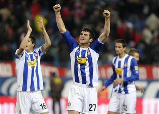 西甲提醒:西班牙人新帅上任连赢两场 迪奥普停