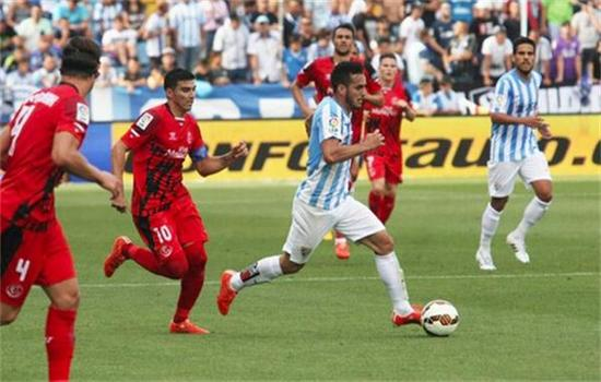 西甲提醒:马拉加逃离降级区 防守出色7战仅丢4球