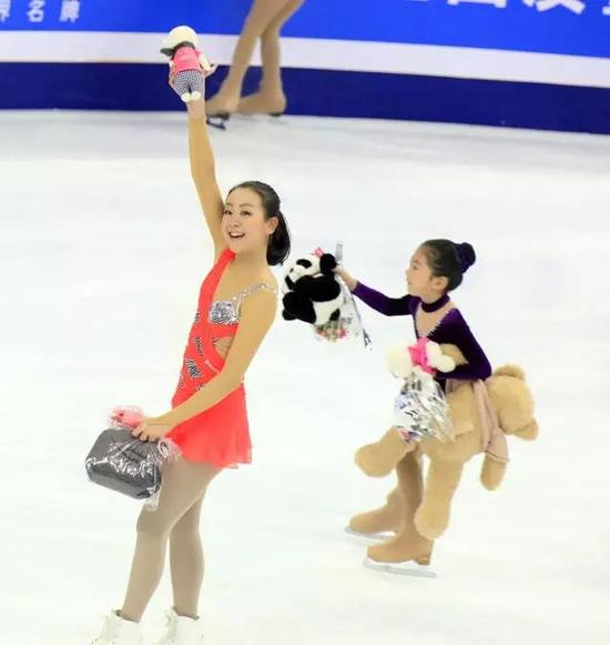 2012年中国杯,浅田真央和小冰童