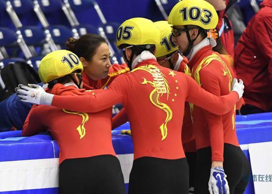 李琰教练与中国男子duandaosuhuadui