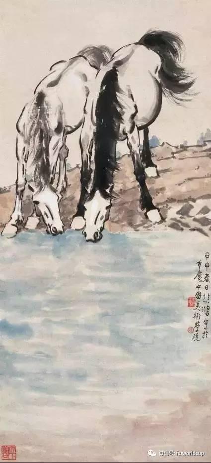 贵的中国 眼睛徐悲鸿画马马 徐悲鸿画马的眼睛用手按 球王直播网图片