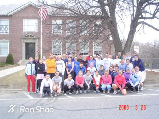 Boston College Nurses Run for Haiti 5K 波士顿学院护士学院5K赛