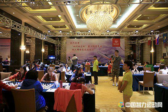 亚洲个人锦标赛的赛场