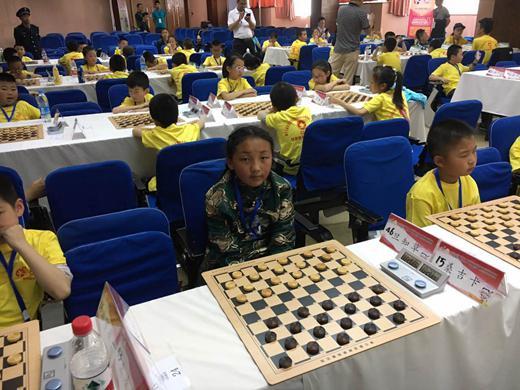 参赛的甘南藏族自治州选手