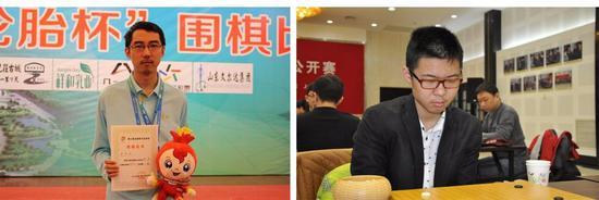 秦悦欣(左),蒋其润(右)