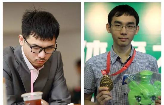张涛(左),蓝天(右)