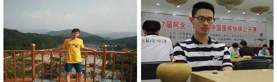 二胡助阵杭州昆仑,胡然闵(左)与胡钰函(右)
