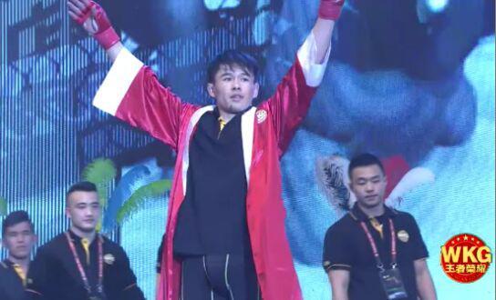 中国・哈尔滨WKG&M-1世界综合格斗赛中国参赛选手阿斯克尔拜