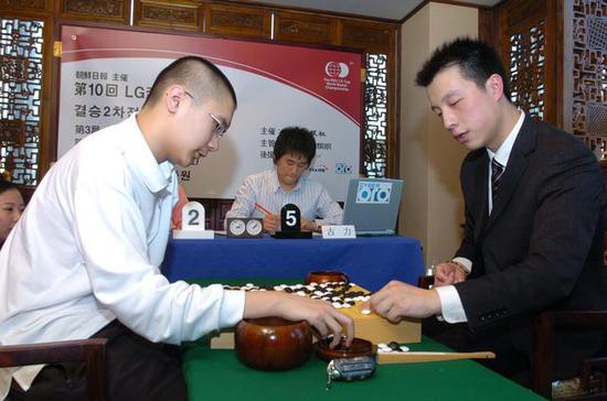 11年前的古力和陈耀烨