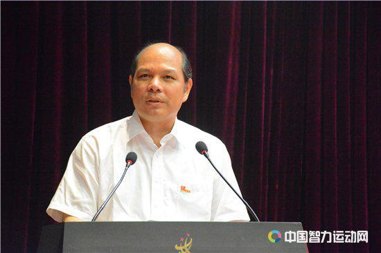 国家体育总局棋牌运动管理中心主任、党委书记罗超毅