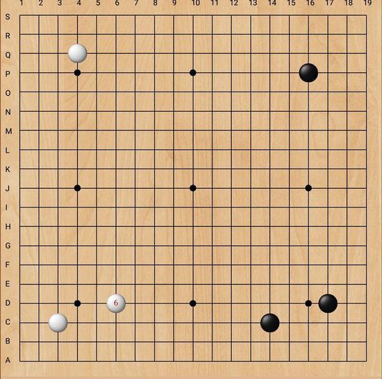 双方先在右上角交锋,战至白28手逼黑右下大飞角,白布局开阔,黑也很舒展,各得其所。