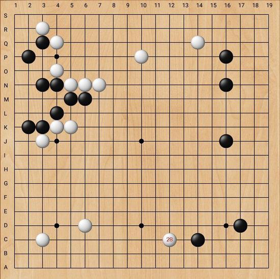 实战经验丰富的叶桂五段每每担任先锋都能起到稳定军心的作用。
