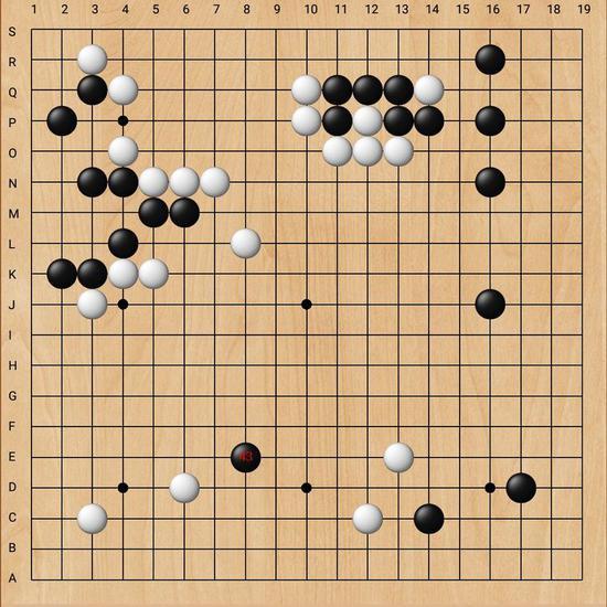 第二阶段不知不觉而至,两队主力长沙舒一笑四段对垒桂林陈栋如二段。