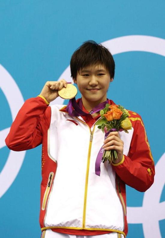 2012年奥运,叶诗文加冕两金