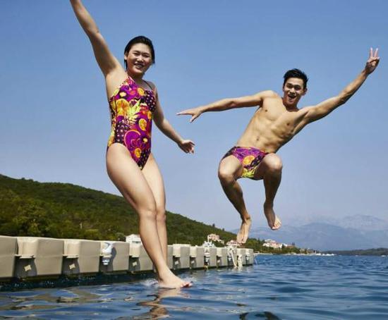 """2012年,中国游泳有了叶诗文和孙杨的""""双保险"""""""