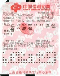 男子守号2年终擒福彩559万:大部分奖金交妻子支配