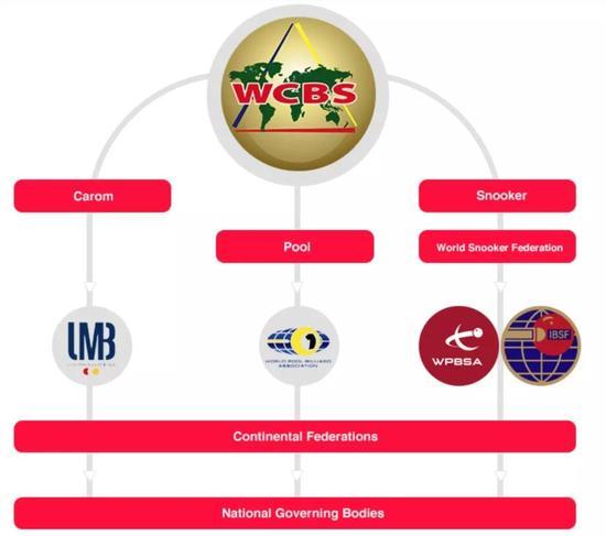 WCBS 组织结构图