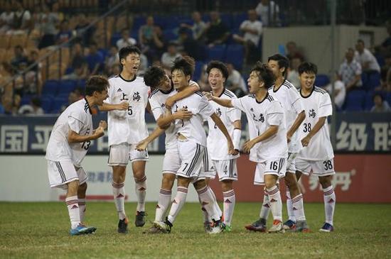 全运U18上海队夺冠。拓宽选材思路
