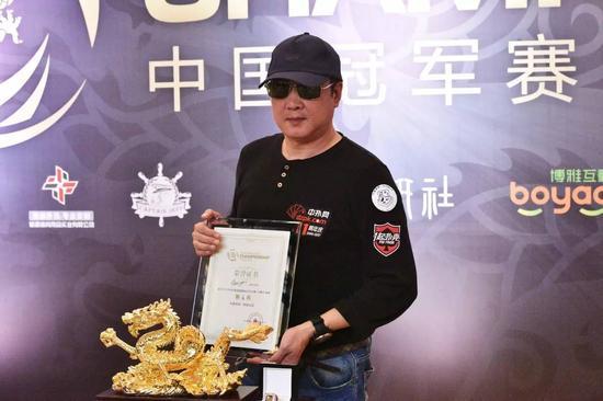 第6名 Shao jianyi 350,000旅游基金+赞助商大套装