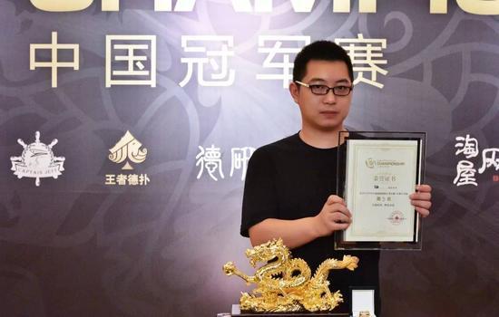 第5名 贺鑫 450,000旅游基金+赞助商大套装