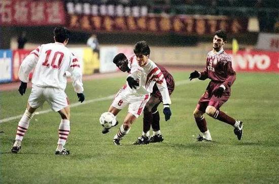 20年前,在大连金州,中国2:3负于卡塔尔