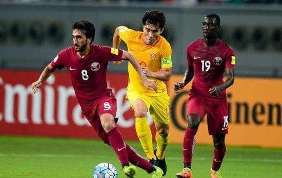 世预赛最后一战,已经提前遭到淘汰的卡塔尔不敌中国队