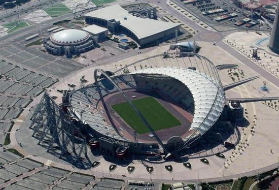 卡塔尔为世界杯兴建的新球场