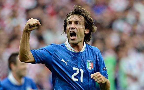在意大利,皮尔洛也是无愧的核心。