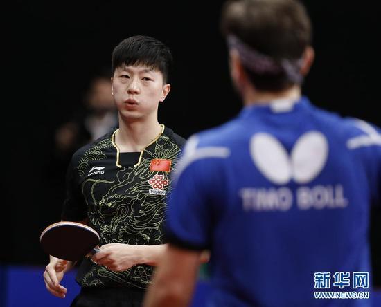 ↑马龙在比赛中。新华社记者叶平凡摄