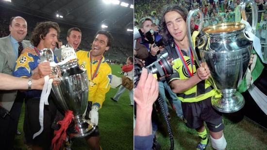 在尤文和多特,索萨连续两年两度捧杯,并在第二年反戈一击老东家尤文。