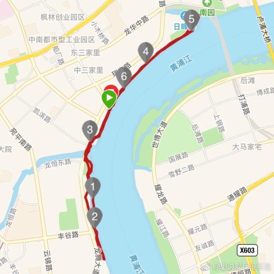 徐汇滨江线路