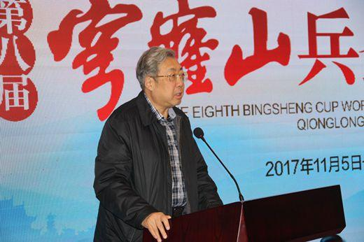总参办公室原主任、中国围棋协会副主席林建超将军