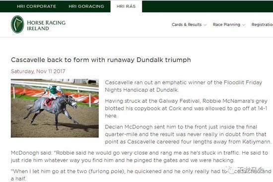 HRI爱尔兰赛马协会报道