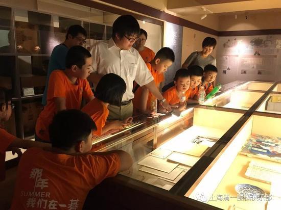 孔令文老师为孩子们讲解日本围棋历史