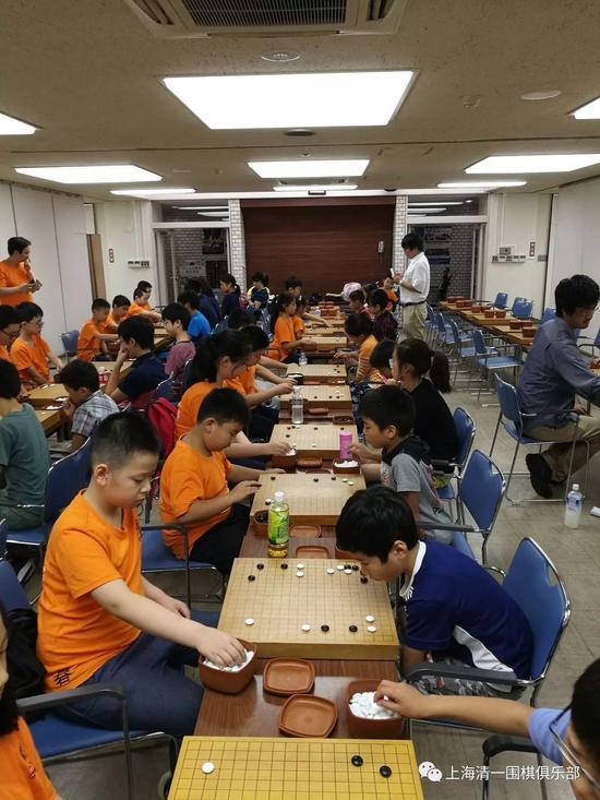 中日围棋少年交流赛