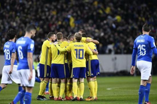 没有伊布,瑞典反而杀入了明年的世界杯