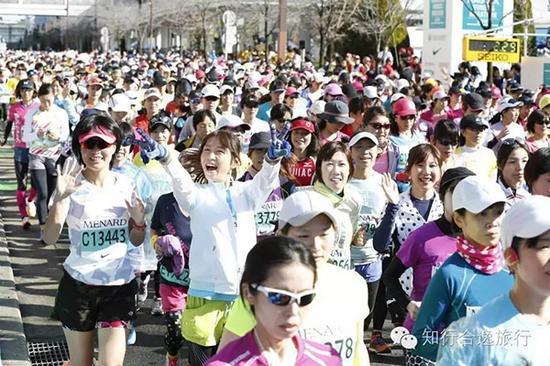 2017名古屋女子全程马拉松赛。