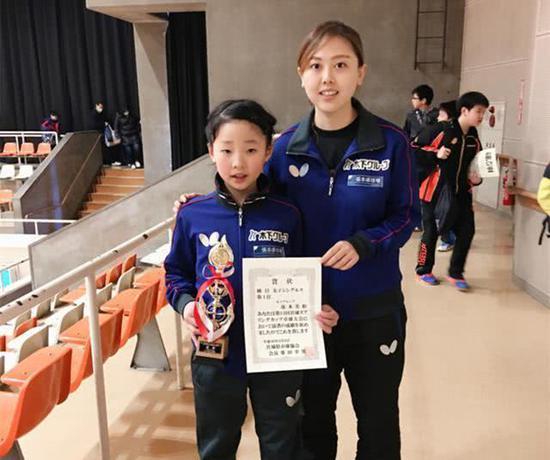 张本美和与她的中国教练