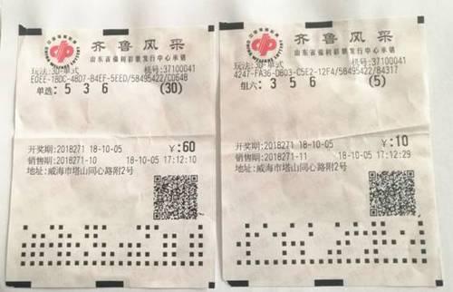 """夫妻买彩图欢乐 复式六码中福彩3万自称""""彩票侠侣"""""""