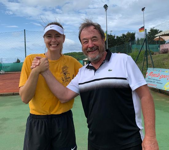 莎娃和意教练将在2020年继续合作 后者执教过德约