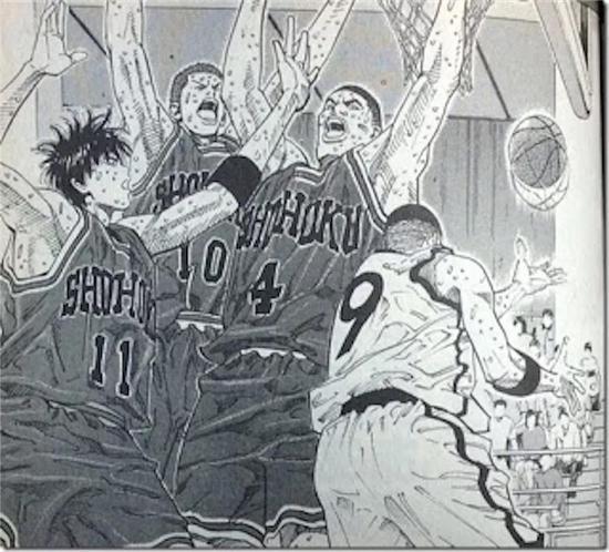 野边将广身为长脸篮板大魔王,原型应该是巴克·威廉姆斯。