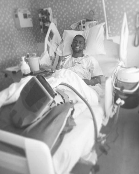 杰克逊·马丁内斯第二次接受左脚脚踝手术时