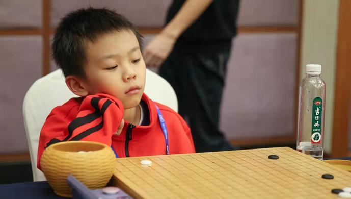 智运会上海队的幼幼棋手