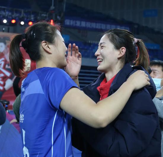 姚迪:无论过程怎样 冠军都是天津努力得来的结果