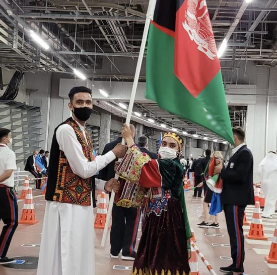 阿富汗女飞人在东京奥运创纪录 但现在她迷茫了